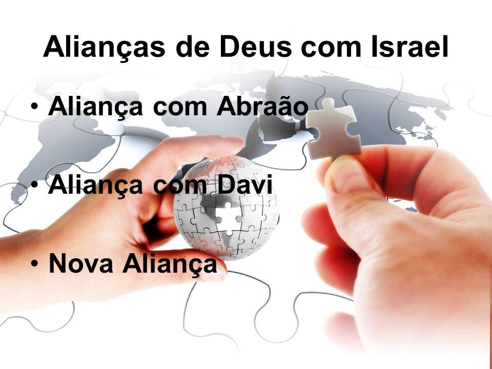 Alianças de Deus com Israel