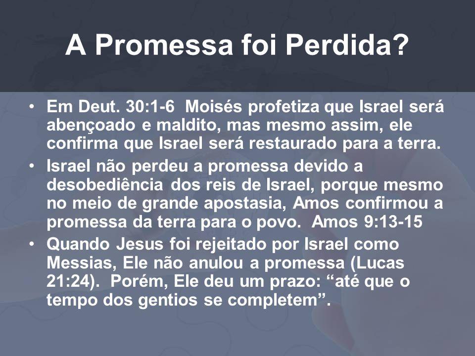 A Promessa foi Perdida