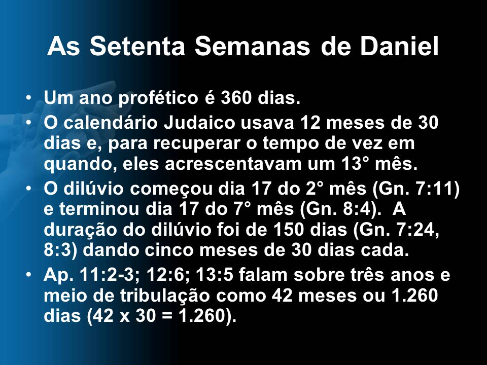 As Setenta Semanas de Daniel