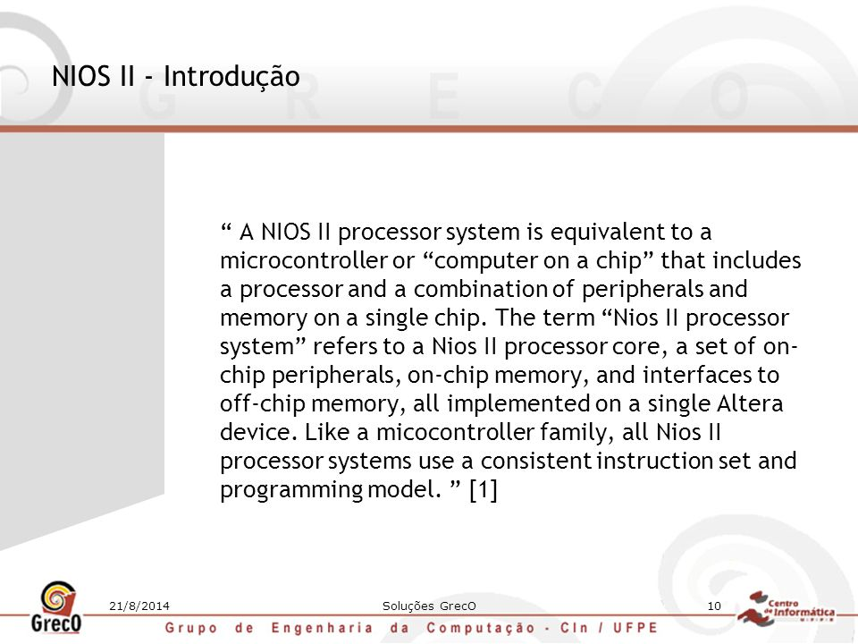 NIOS II - Introdução