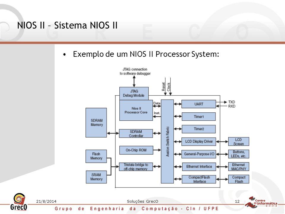 NIOS II – Sistema NIOS II