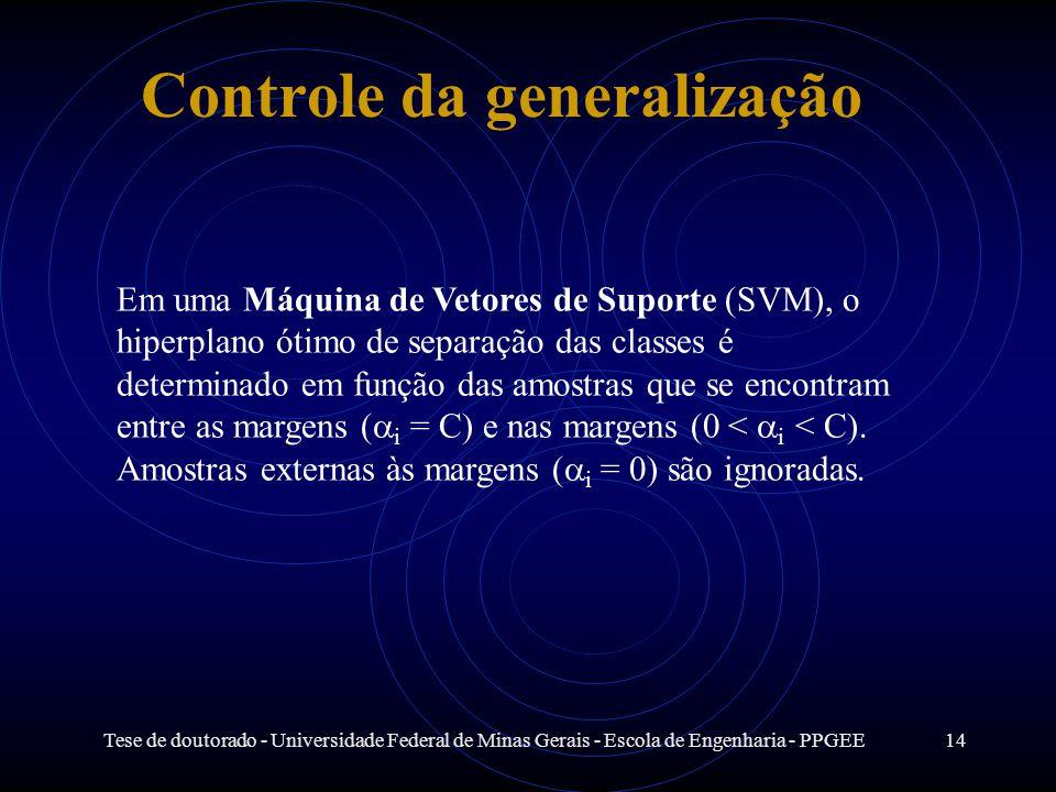 Controle da generalização