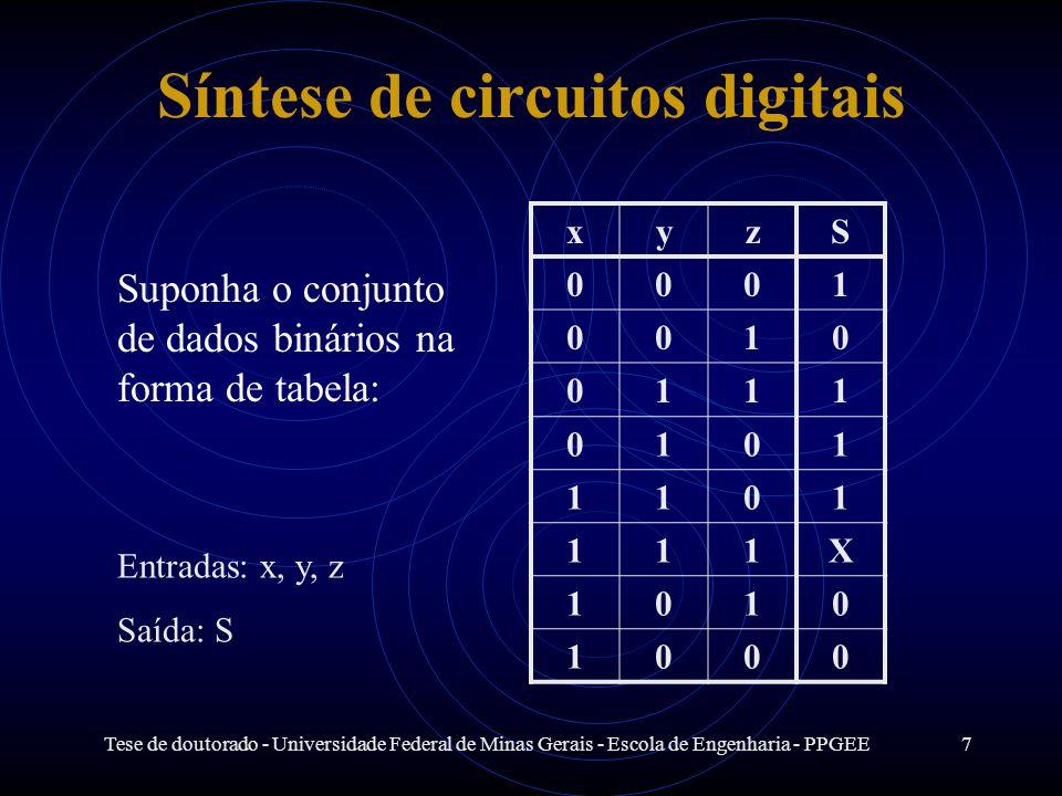 Síntese de circuitos digitais