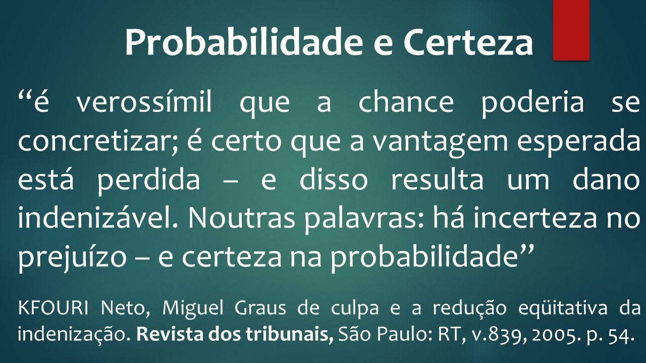 Probabilidade e Certeza