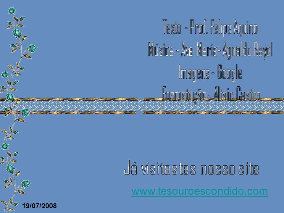 Texto - Prof. Felipe Aquino Música - Ave Maria- Agnaldo Rayol