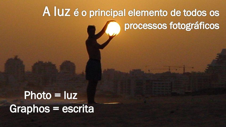 A luz é o principal elemento de todos os processos fotográficos