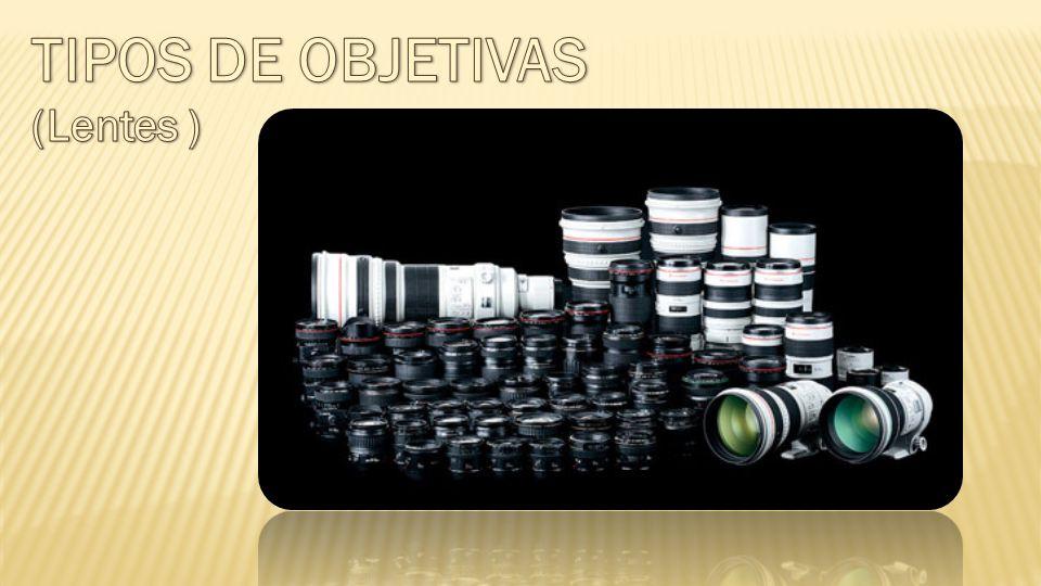 TIPOS DE OBJETIVAS (Lentes )