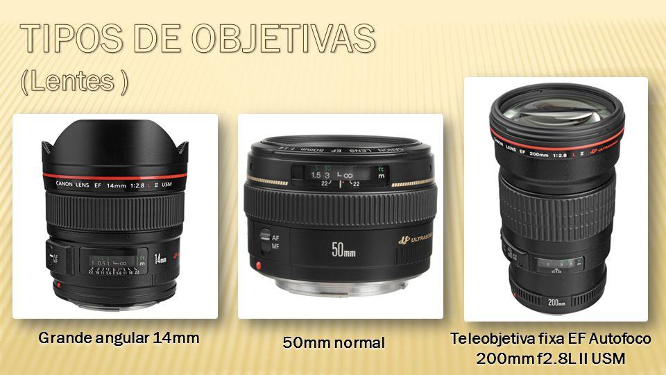 Teleobjetiva fixa EF Autofoco 200mm f2.8L II USM