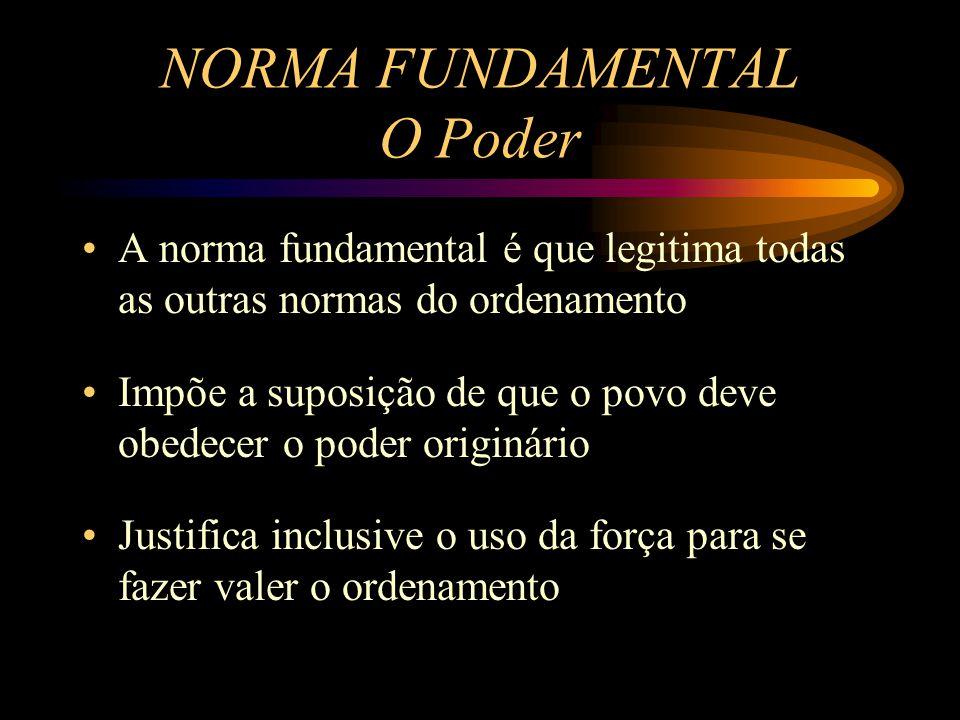 NORMA FUNDAMENTAL O Poder
