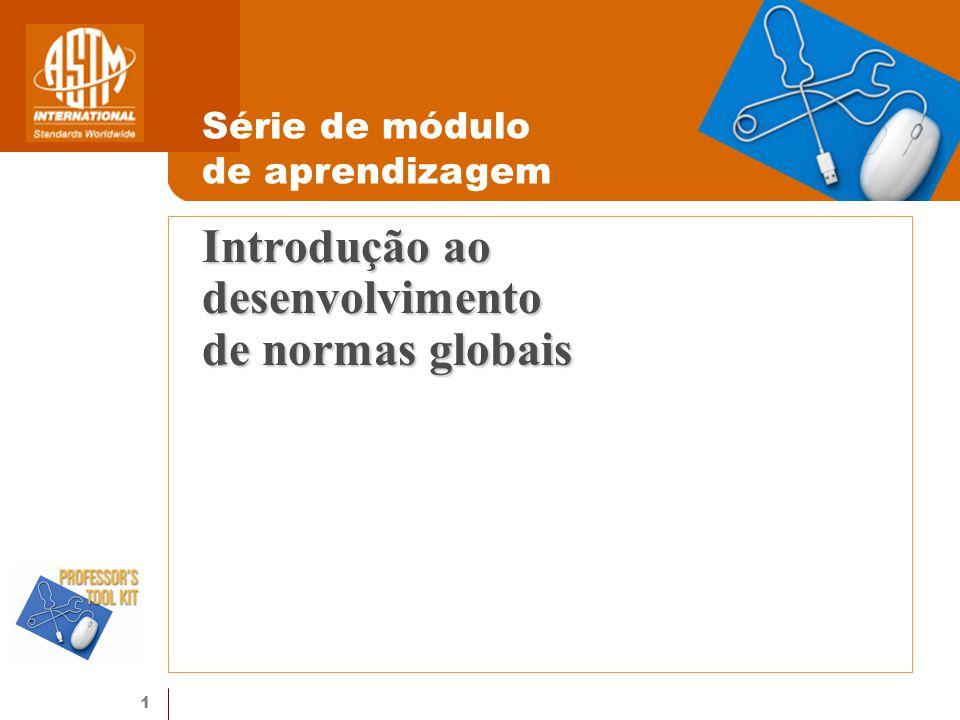 Introdução ao desenvolvimento de normas globais