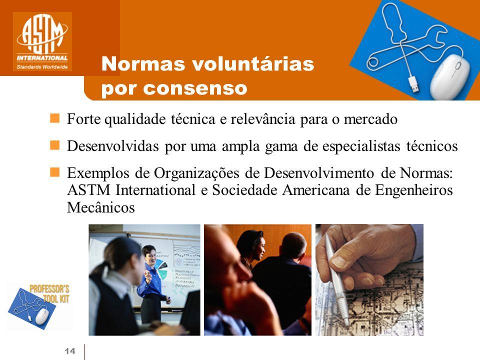Normas voluntárias por consenso