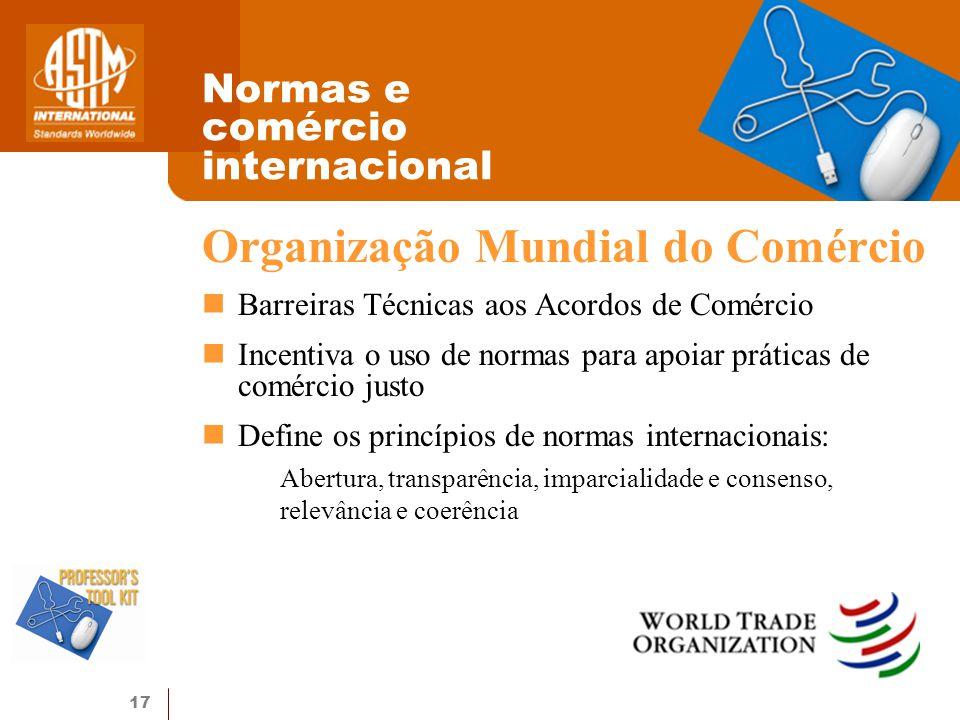 Normas e comércio internacional