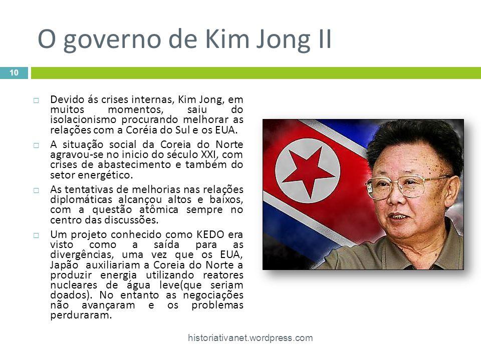 O governo de Kim Jong II