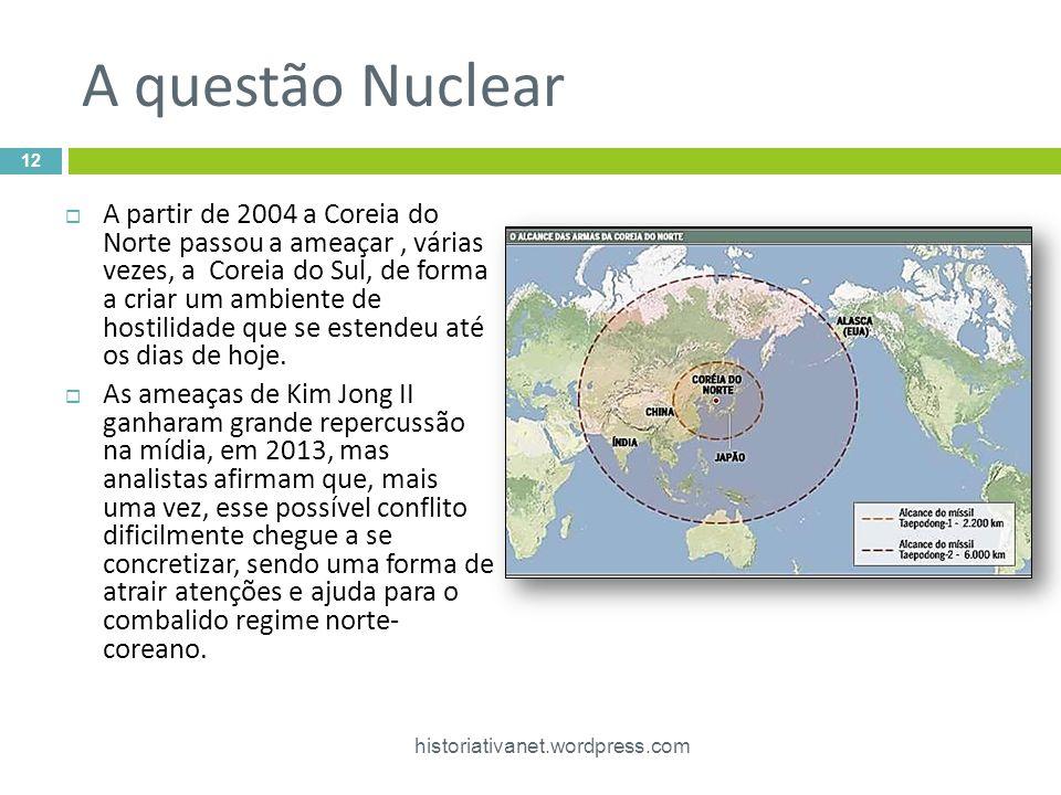 A questão Nuclear