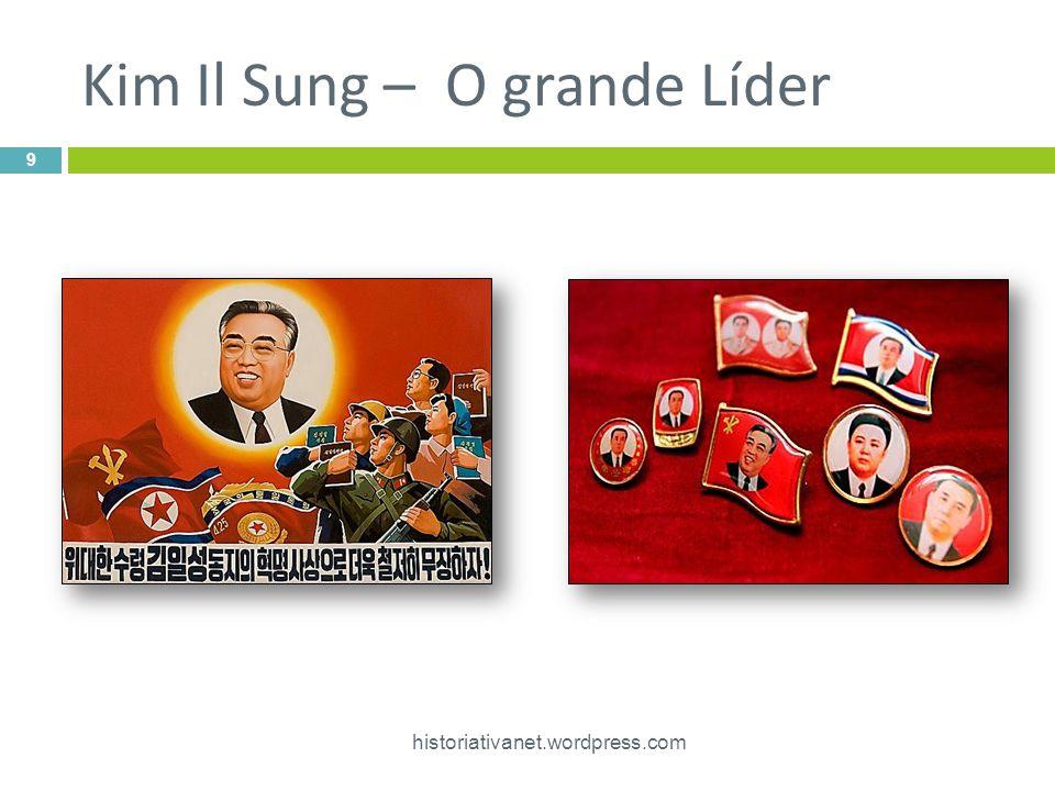 Kim Il Sung – O grande Líder