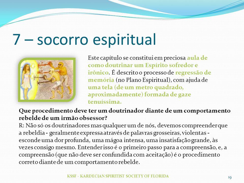 7 – socorro espiritual