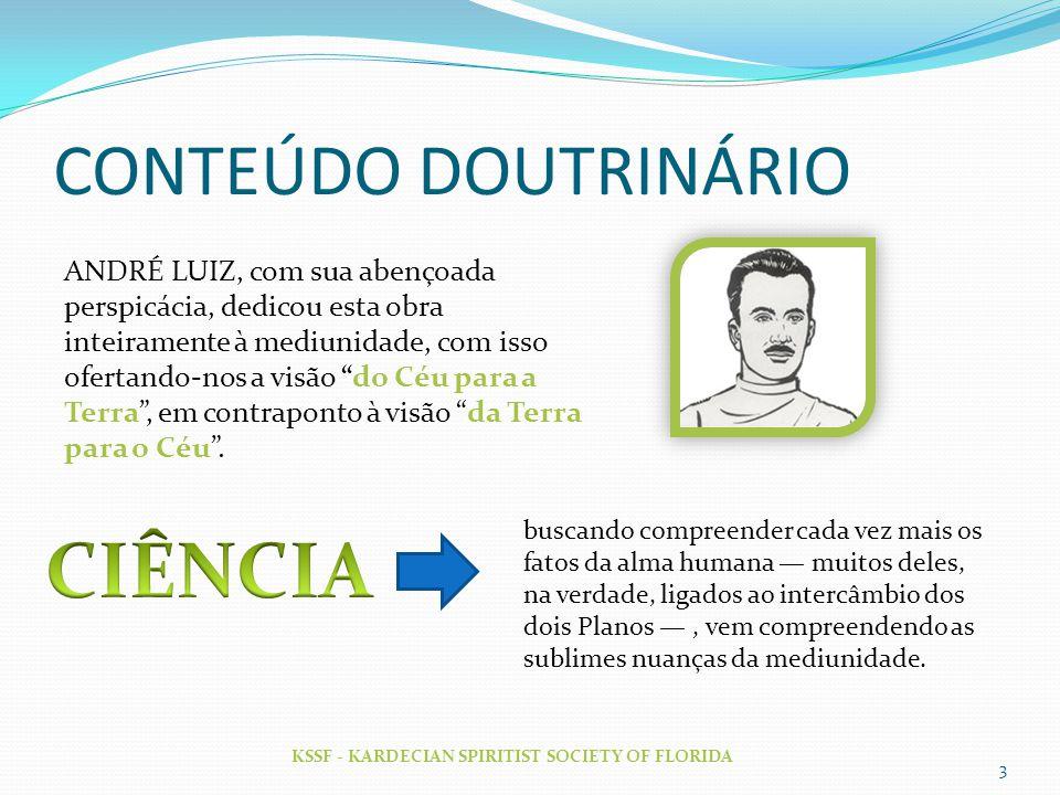 CIÊNCIA CONTEÚDO DOUTRINÁRIO