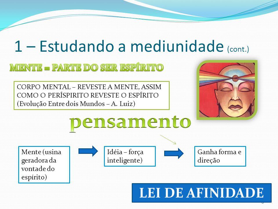 1 – Estudando a mediunidade (cont.)