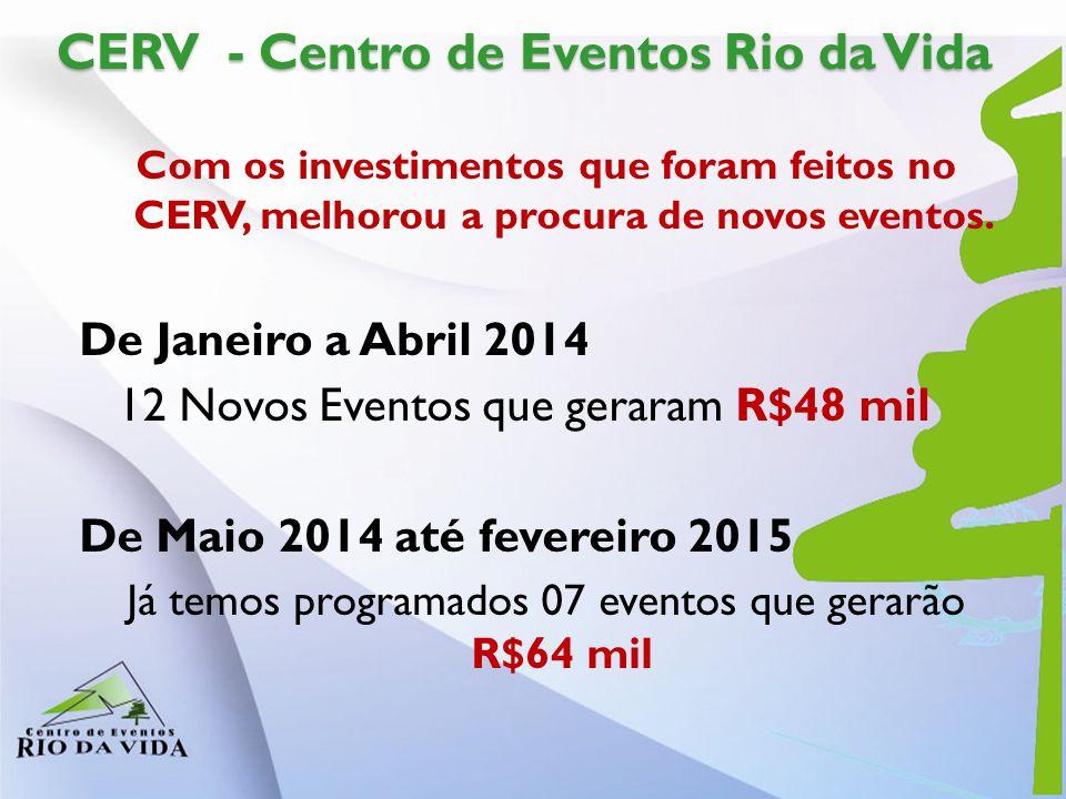CERV - Centro de Eventos Rio da Vida