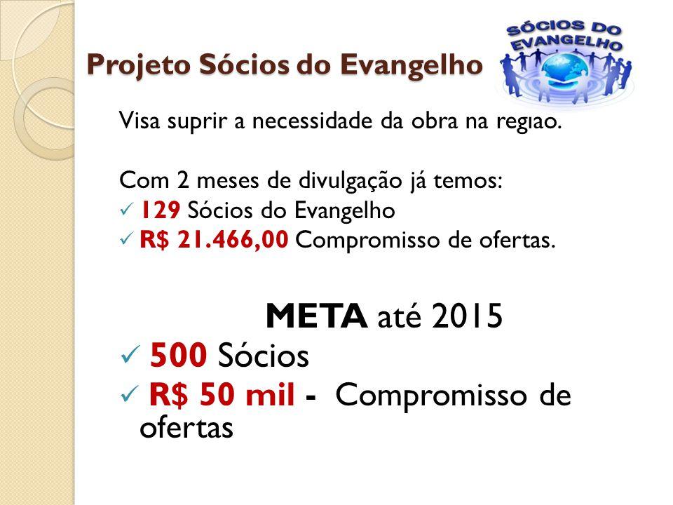 Projeto Sócios do Evangelho