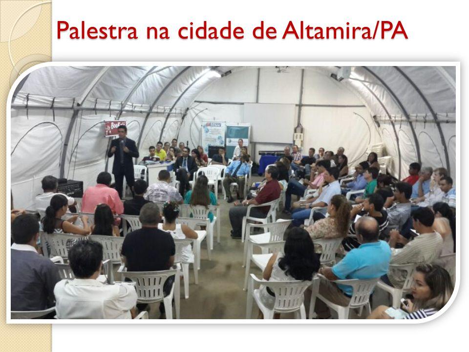 Palestra na cidade de Altamira/PA