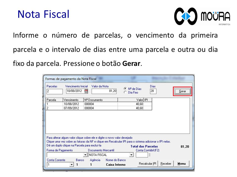 Nota Fiscal