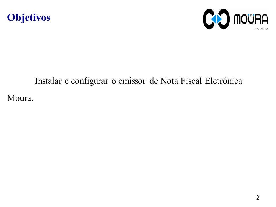 Instalar e configurar o emissor de Nota Fiscal Eletrônica