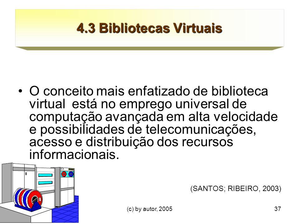 4.3 Bibliotecas Virtuais