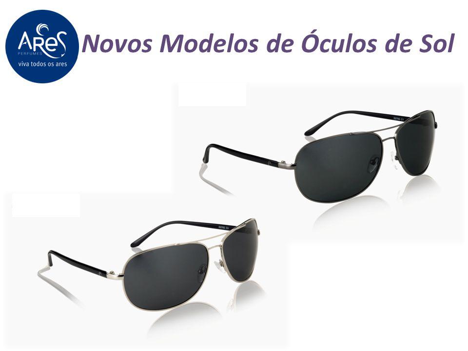 Novos Modelos de Óculos de Sol