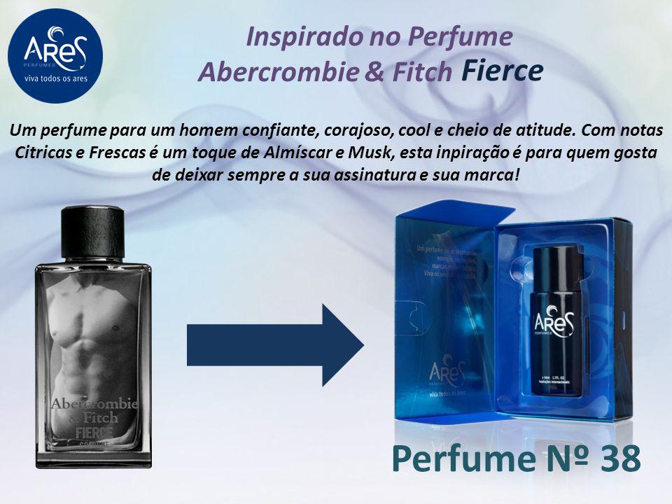 Perfume Nº 38 Fierce Inspirado no Perfume Abercrombie & Fitch
