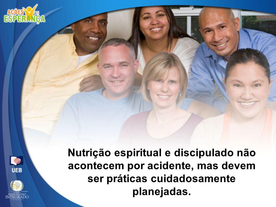 Nutrição espiritual e discipulado não
