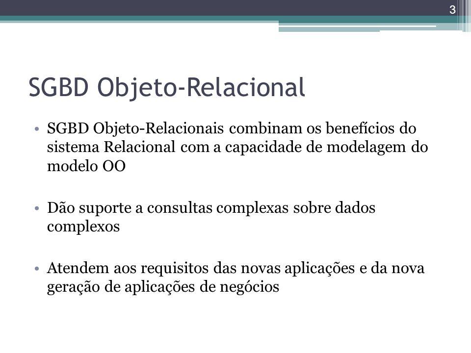 SGBD Objeto-Relacional