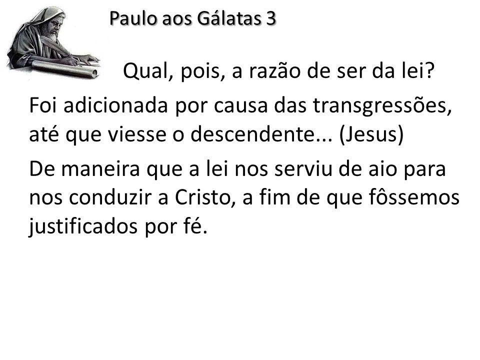 Paulo aos Gálatas 3
