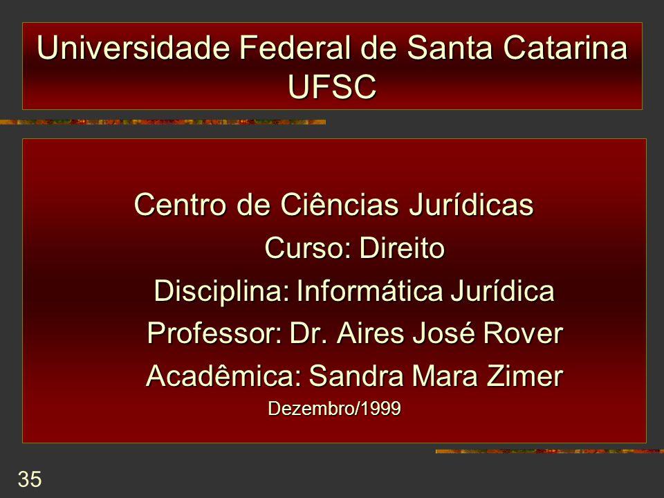Universidade Federal de Santa Catarina UFSC