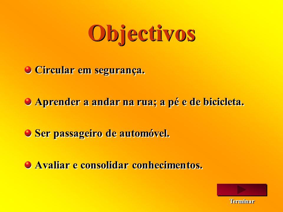 Objectivos Circular em segurança.
