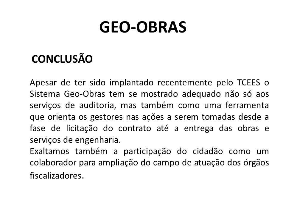 GEO-OBRAS CONCLUSÃO.