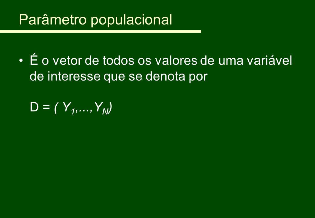 Parâmetro populacional