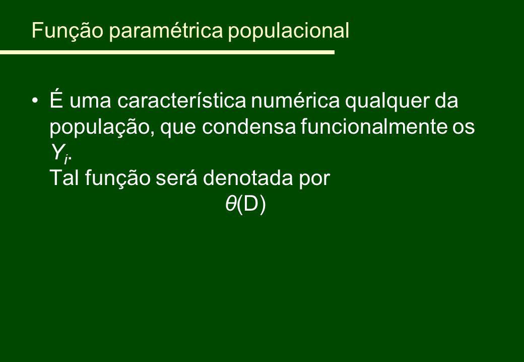 Função paramétrica populacional