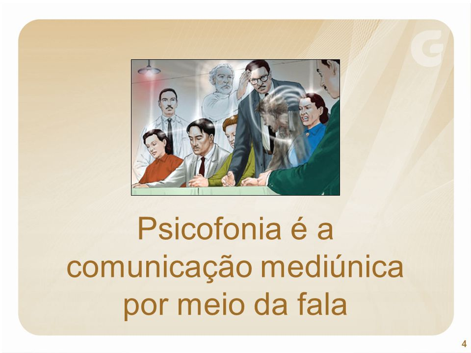 Psicofonia é a comunicação mediúnica por meio da fala
