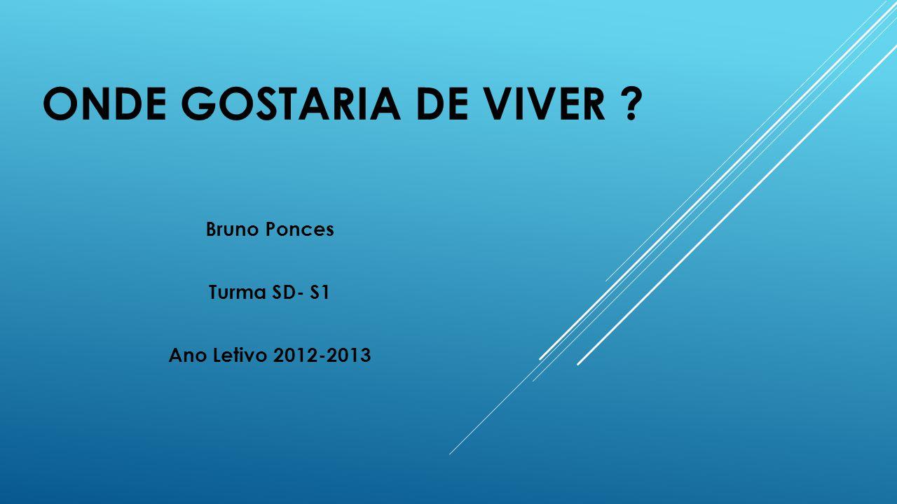Bruno Ponces Turma SD- S1 Ano Letivo 2012-2013
