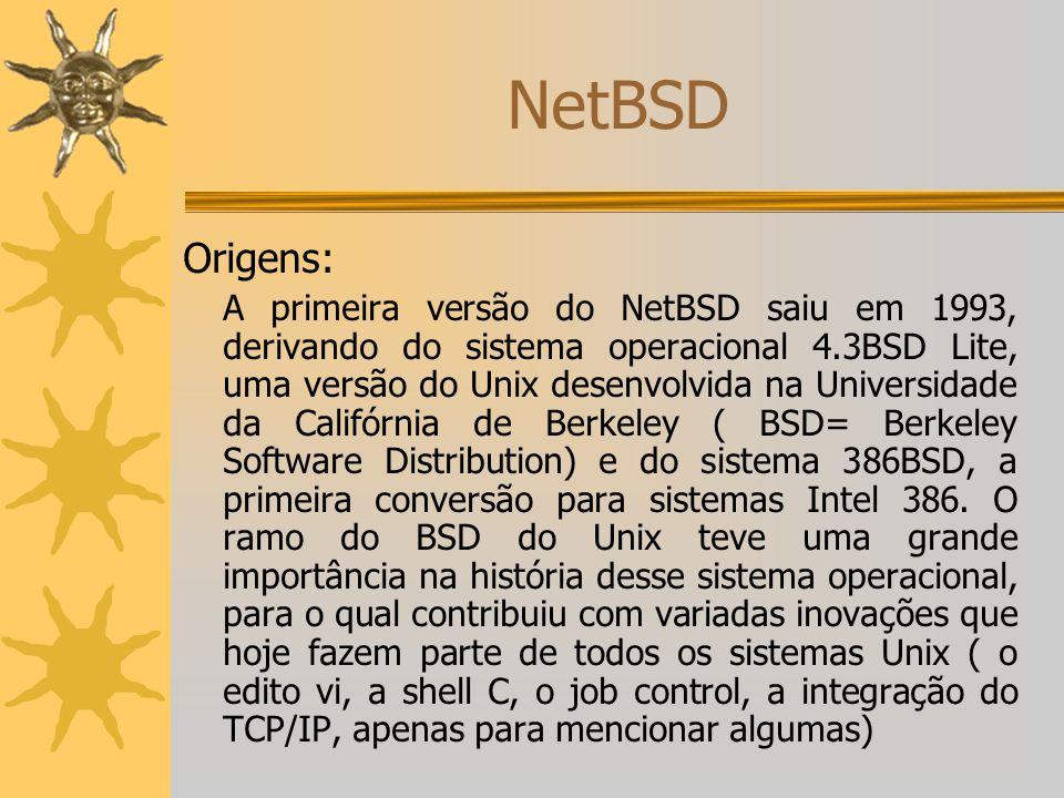 NetBSD Origens: