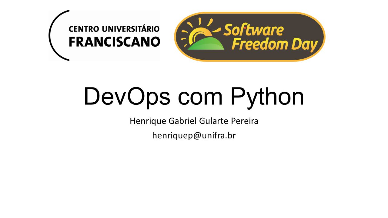 Henrique Gabriel Gularte Pereira henriquep@unifra.br