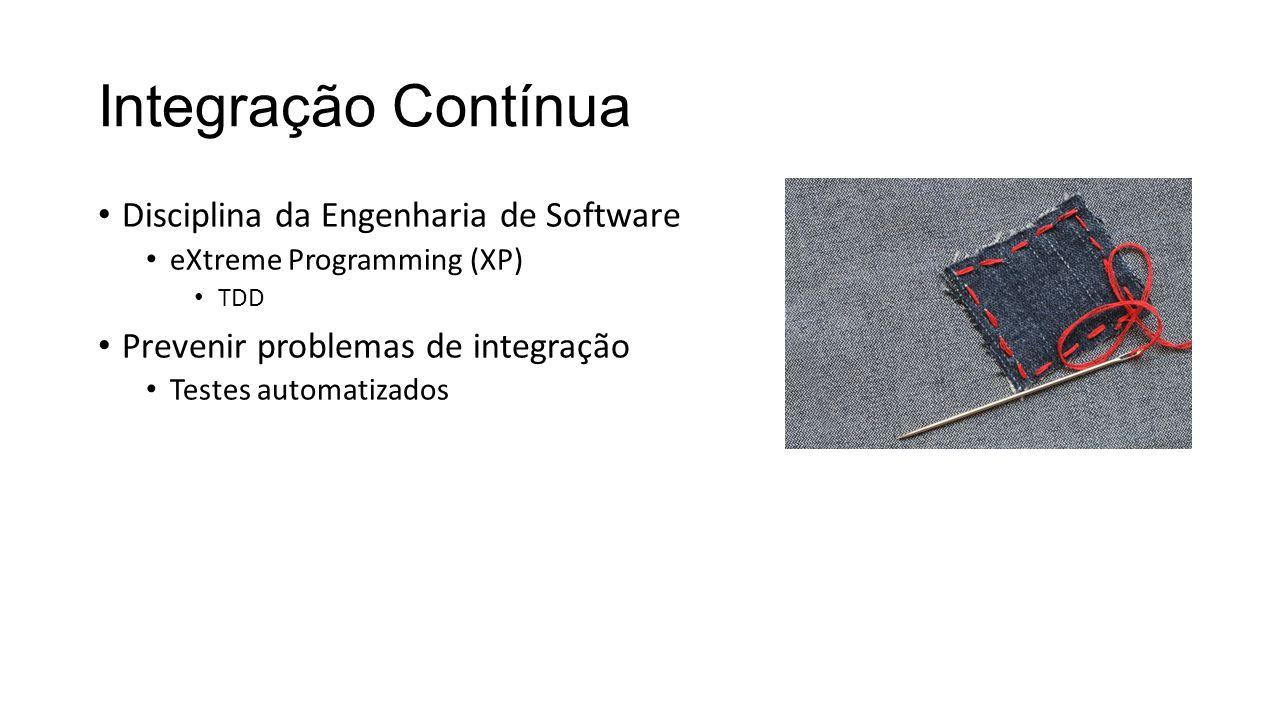 Integração Contínua Disciplina da Engenharia de Software