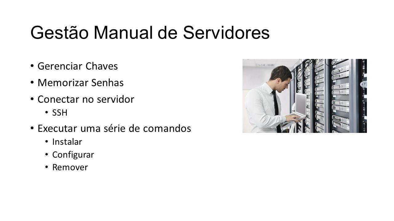 Gestão Manual de Servidores