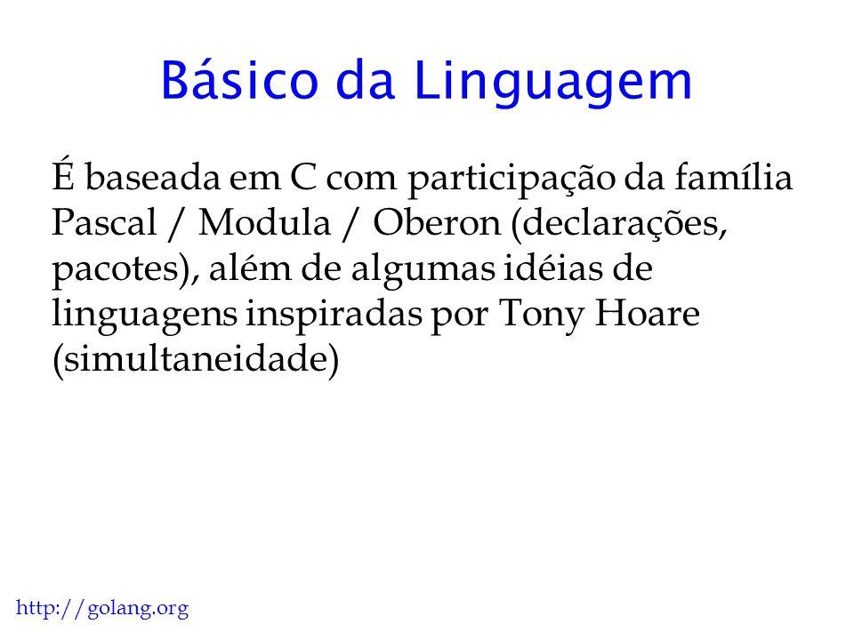 Básico da Linguagem