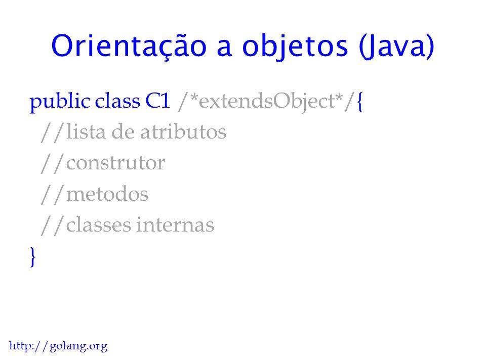 Orientação a objetos (Java)