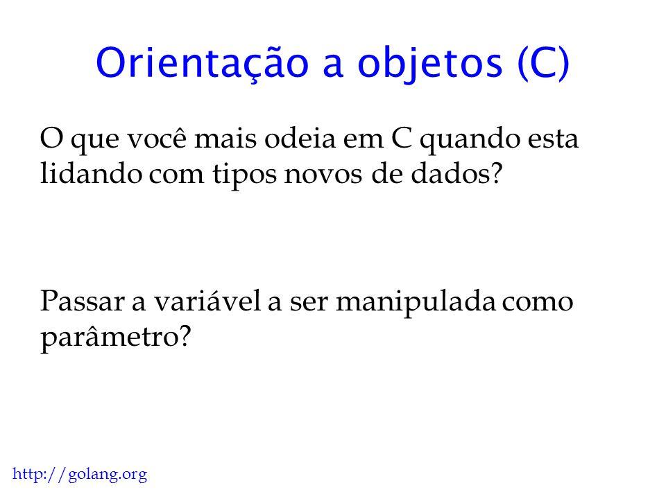 Orientação a objetos (C)