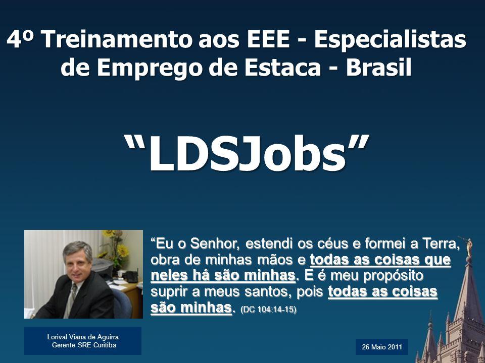 4º Treinamento aos EEE - Especialistas de Emprego de Estaca - Brasil