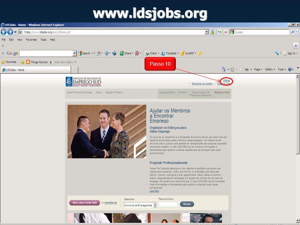 www.ldsjobs.org Passo 10