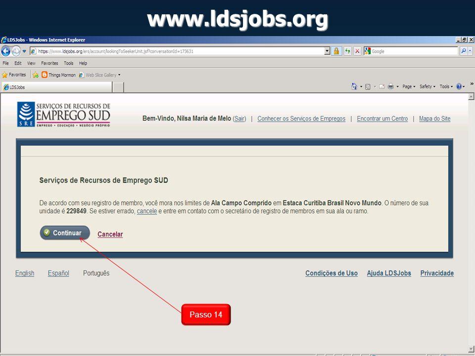 www.ldsjobs.org Passo 14